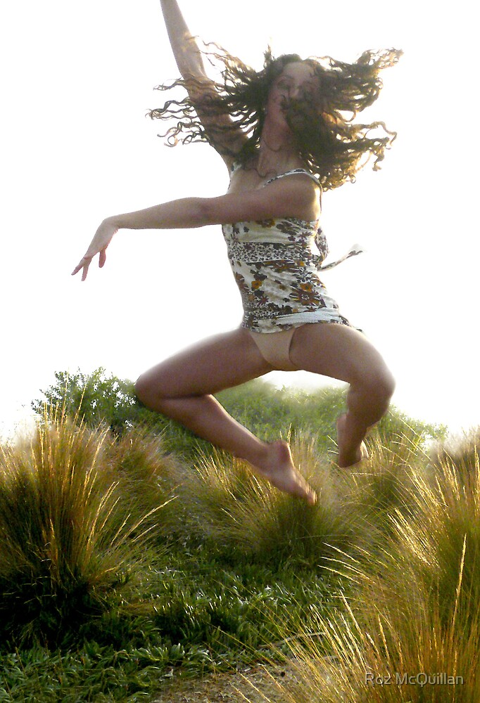 Leap for Joy : photograph by Roz McQuillan