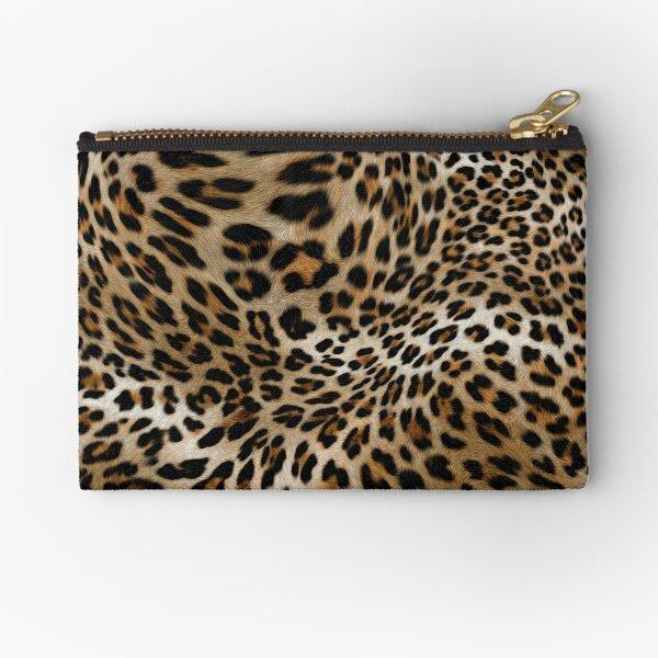 Leopard Pattern Zipper Pouch
