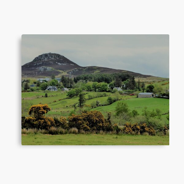 On The Road To Clonmany....................Ireland Canvas Print