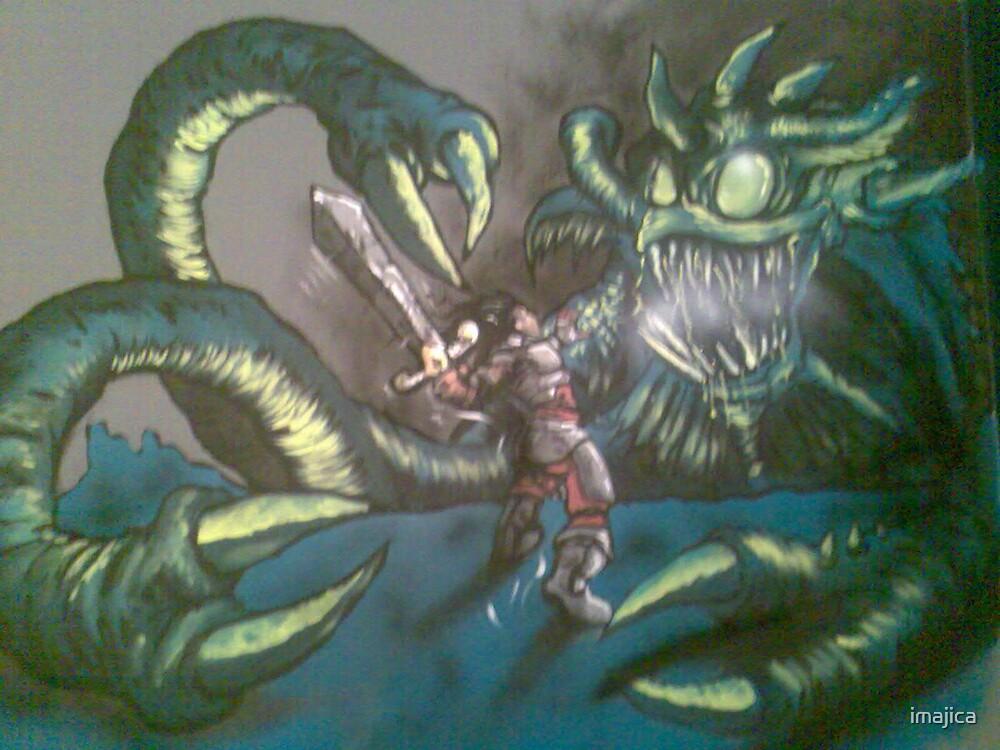cyberzone wall mural by imajica
