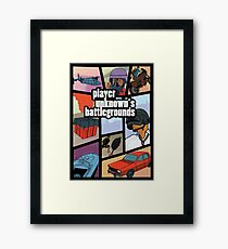 PUBG GTA Framed Print