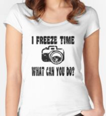 Photo T Shirt  Women's Fitted Scoop T-Shirt