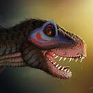 Tyrannosaur the feathered dinosaur by SessaV