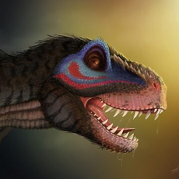 Tyrannosaur the feathered dinosaur by SessaV