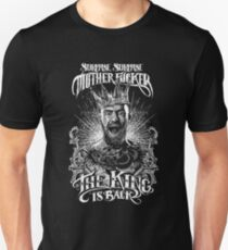 THE KING IS BACK - BW Unisex T-Shirt