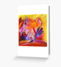 Dance me to the end of love -  Art + Products Design  Greeting Card