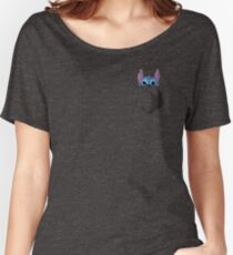 Pocket Stitch Women's Relaxed Fit T-Shirt