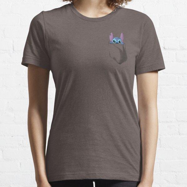 Puntada de bolsillo Camiseta esencial