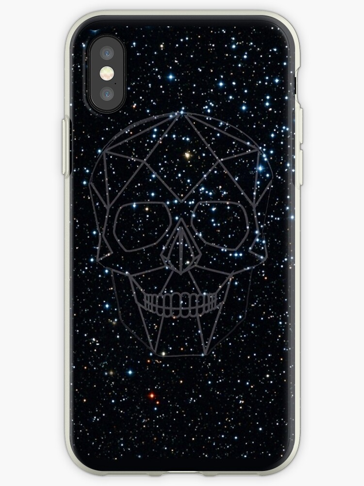 Geometric Skull Constellation by Jakey1610