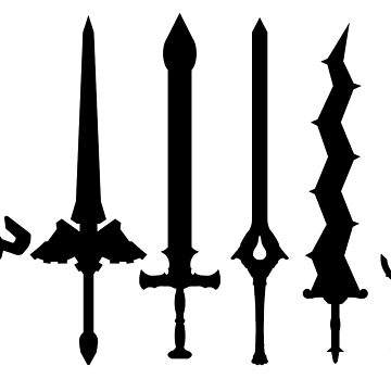 Fire Emblem : Legendary Swords (Black) by Natios