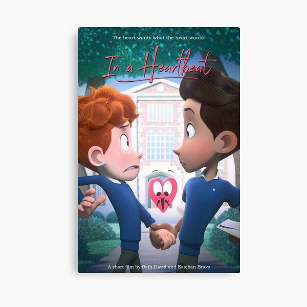 In a Heartbeat - Official Film Poster Canvas Print