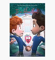 In a Heartbeat - Official Film Poster Photographic Print