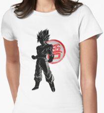 Goku Womens Fitted T-Shirt