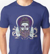 Flower Beard || Psychedelic Illustration by Chrysta Kay Unisex T-Shirt