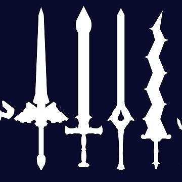 Fire Emblem : Legendary Swords (White) by Natios