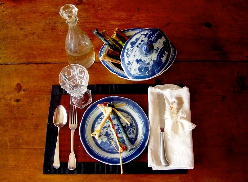 Dinner with Man Ray by jordyv