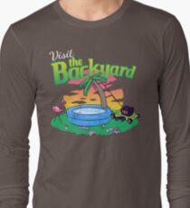 Backyard Vacation Long Sleeve T-Shirt