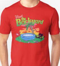 Backyard Vacation Unisex T-Shirt