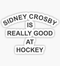 Crosby  Sticker