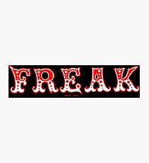 FREAK OUT - Art By Kev G Photographic Print