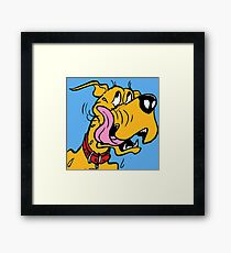Dog Hungry Framed Print