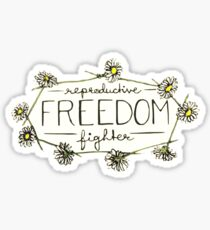 Reproductive Freedom Fighter Sticker