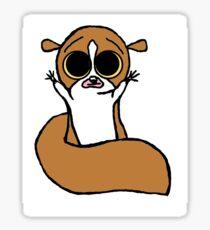 Cute Mort Design Sticker
