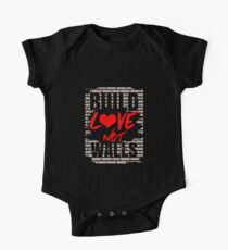 Build Love Not Walls Kids Clothes