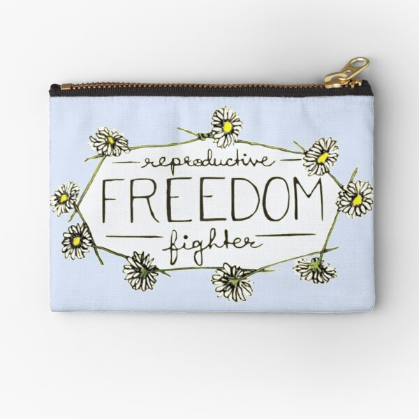 Reproductive Freedom Fighter Zipper Pouch