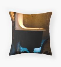 Toxic Sink Throw Pillow