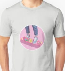 90s Aesthetic Hoverboard Unisex T-Shirt