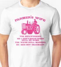 Farmer's Wife Unisex T-Shirt