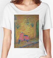 La Mia Vespa Rossa Women's Relaxed Fit T-Shirt