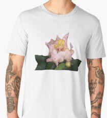 Pretty Pink Flower Men's Premium T-Shirt