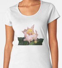 Pretty Pink Flower Women's Premium T-Shirt