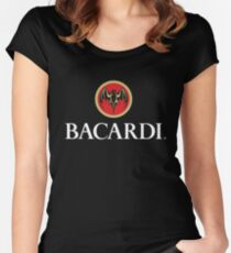 BACARDI Women's Fitted Scoop T-Shirt