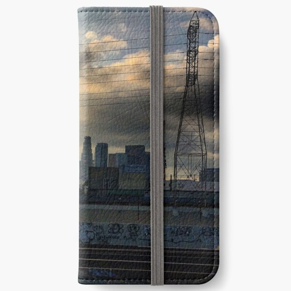 Downtown Los Angeles 10/18/15 #1 iPhone Wallet