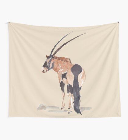 Gemsbuck (Oryx gazella) Wall Tapestry
