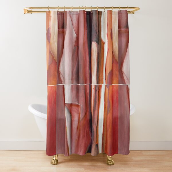Ingredients diptych part a & b Shower Curtain