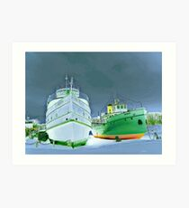 selkirk boats Art Print