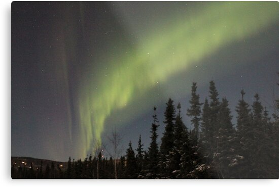Aurora Borealis Alaska 2 by roguefaerie