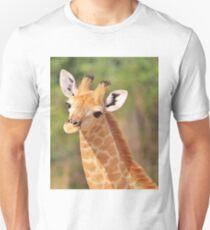 Giraffe - African Wildlife - Innocence is Adorable T-Shirt