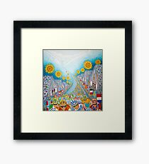 Le Tour de France. Framed Print