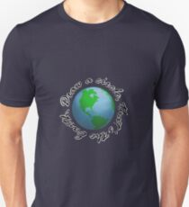 Draw a Circle, That's the Earth T-Shirt