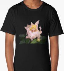 Pretty Pink Flower 2 Long T-Shirt