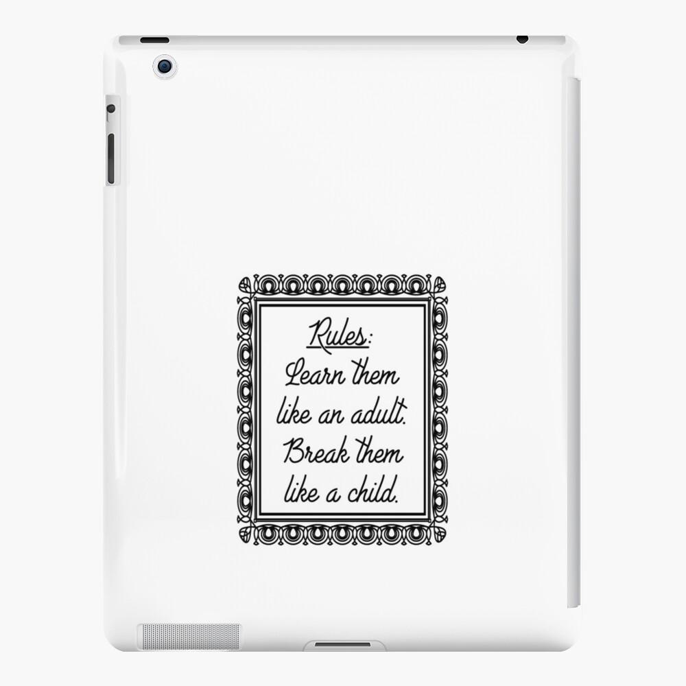 Regeln iPad-Hüllen & Klebefolien