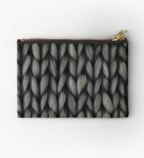 Knitted Yarn Studio Pouch