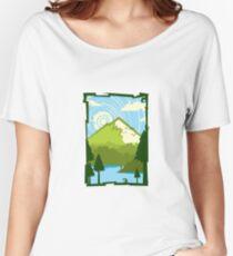 Mountain Lake Women's Relaxed Fit T-Shirt