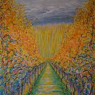 Vineyard In Autumn by Vincent Loverso