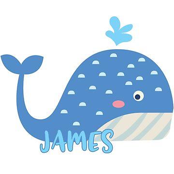Whale - James by lenorelocken